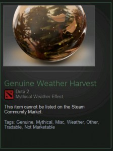Genuine Weather Harvest (Weather)