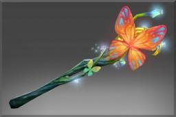 Genuine Fluttering Staff (Immortal Nature's Prophet)