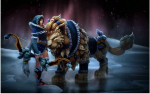 Snowstorm Huntress (Mirana Set)