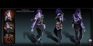 The Deadly Nightshade (Templar Assassin Set)
