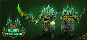 Aspect of the Year Beast (Wraith King Set)