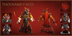 Thousand Faces Set (Juggernaut Set)