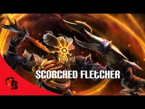 Scorched Fletcher (Clinkz Set)