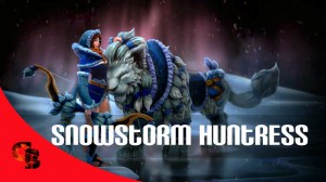 Snowstorm Huntress (Mirana Set)