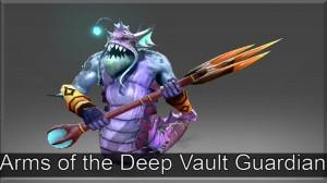 Arms of the Deep Vault Guardian (Slardar Set)