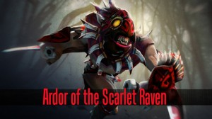 Ardor of the Scarlet Raven (Bloodseeker Set)