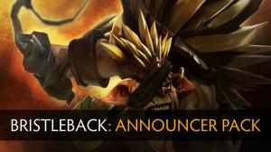 Announcer Pack Bristleback (Announcer+Mega-kill)