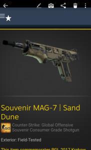 Souvenir MAG-7 | Sand Dune (Souvenir Consumer Grade Shotgun)