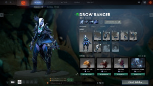 Jewel of the Forest (Drow Ranger Set)