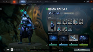 The Boreal Watch (Drow Ranger Set)