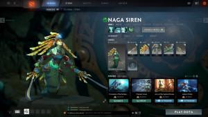 The Slithereen Knight (Naga Siren Set)