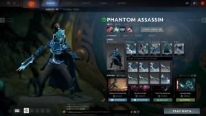 Dark Wraith (Phantom Assassin Set)
