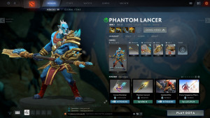 Arms of the Bramble Lord (Phantom Lancer Set)