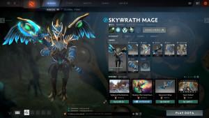 Cloud Forged Battle Gear Set (Skywrath Mage Set)