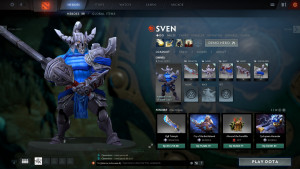 Raiment of the Chiseled Guard (Sven Set)
