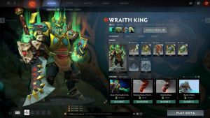 Regalia of the Wraith Lord (Wraith King Set)