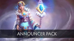 Complete Announcer Crystal Maiden