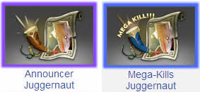 Announcer Pack Juggernaut (Announcer + Megakill)