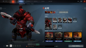 Red Mist Reaper (Axe Set)