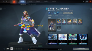 Regalia of the Crystalline Queen (Crystal Maiden Set)