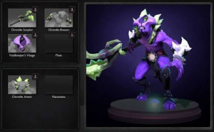 Chronite Defense (Faceless Void Set)