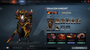 Fire Dragon of Doom (Dragon Knight Set)