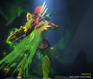 Sylvan Cascade (Immortal Windranger)