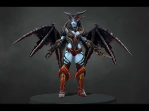 The Arch Temptress (Queen of Pain Set)