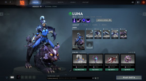 Flight of the Crescent Moon (Luna Set)