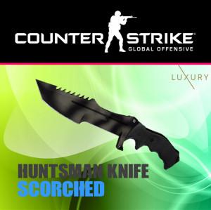 Huntsman Knife   Scorched