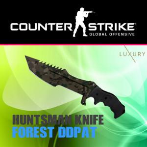Huntsman Knife   Forest DDPAT