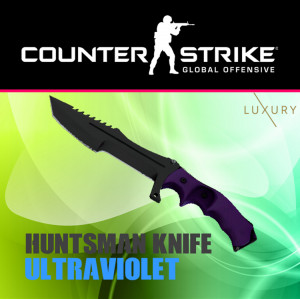 Huntsman Knife | Ultraviolet