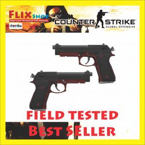 Dual Berettas | Panther (Mil-Spec Pistol)
