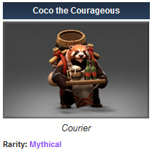 Coco the Courageous (Courier)