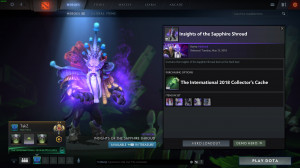 Insights of the Sapphire Shroud (Dark Seer TI8)