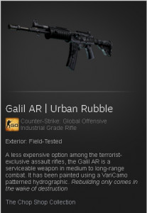 Galil AR | Urban Rubble
