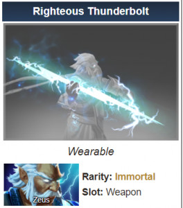 Righteous Thunderbolt (Immortal Zeus)