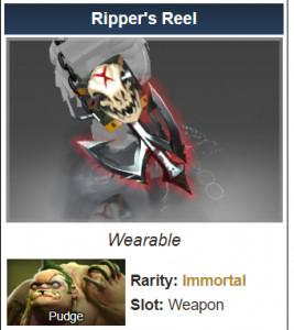 Ripper's Reel (Immortal Pudge)
