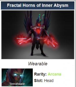 Fractal Horns of Inner Abysm (Arcana Terrorblade)