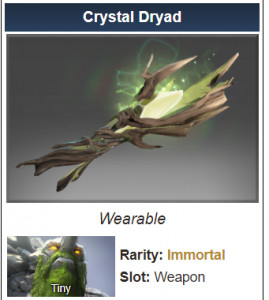 Crystal Dryad (Immortal Tiny)