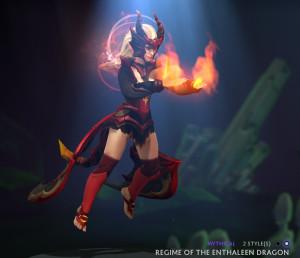 Regime of the Enthaleen Dragon (Lina Set)