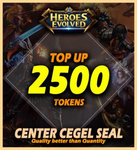 2500 Tokens (All Server)