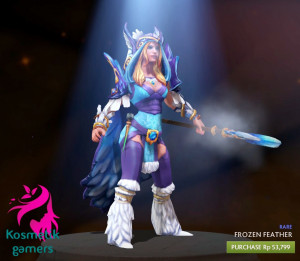 Frozen Feather Set (Crystal Maiden Set)