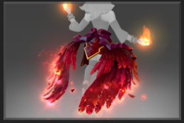 Wyrmwrought Flare (Immortal TI7 Lina)