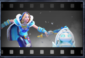 Taunt: Making Friends (Crystal Maiden Taunt)