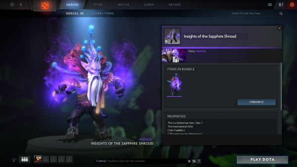 Insights of the Sapphire Shroud (Dark Seer Set)