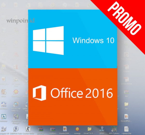 Promo Windows 10 Pro + Office 2016