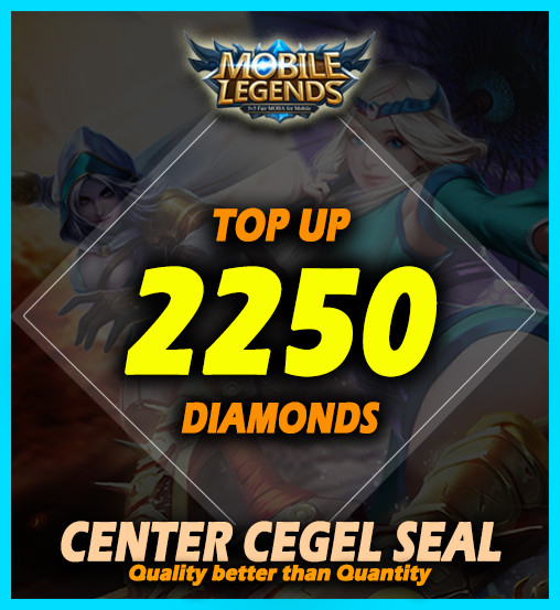 Top Up 2250 Diamonds