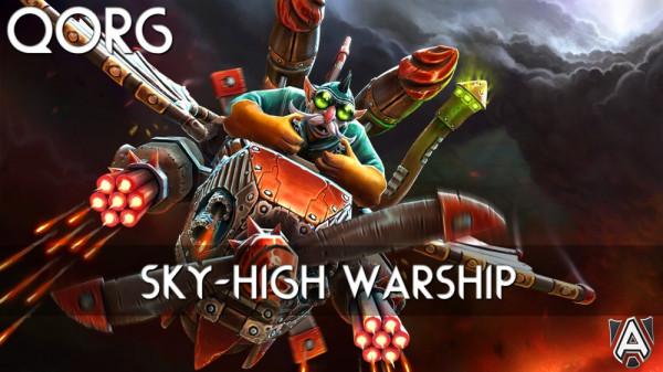 Sky-High Warship (Gyrocopter Set)