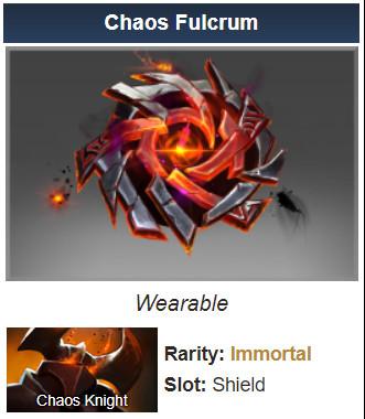 Chaos Fulcrum (Immortal TI7 Chaos Knight)